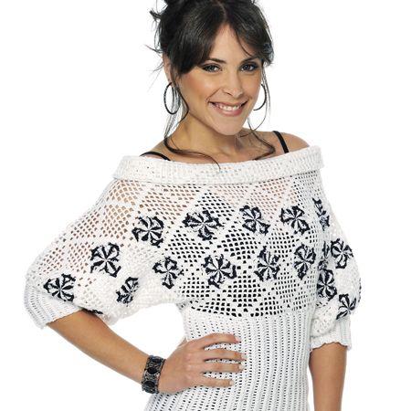 Receitas de Trico e Croche: Crochet Fashion, Crochet Shirts, Blusa Crochê, Blusa De, Fashion Crochê, Fashion Crochet, De Blusa, Quaver, Crochet Clothing