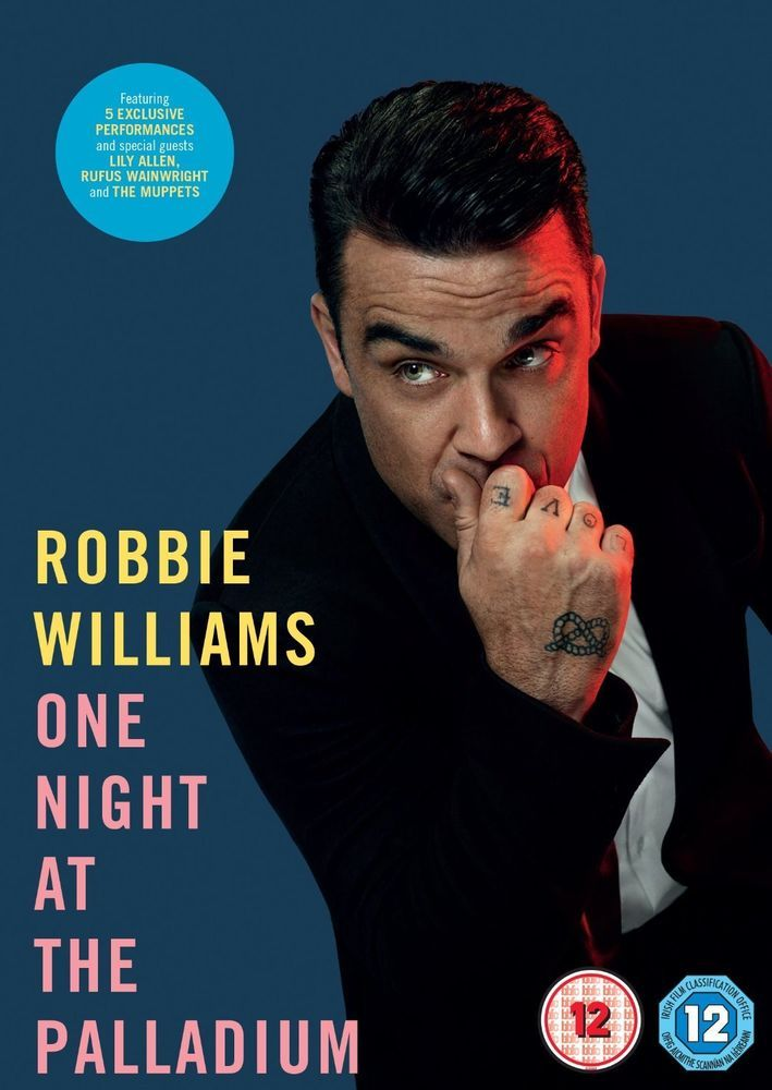 ROBBIE WILLIAMS One Night At The Palladium 2013 DVD NEW/SEALED PAL Region 2 & 4 #Music