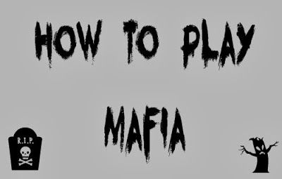 How to Play Mafia - you're new favorite party game. (Played this once-OMG, so much fun!)