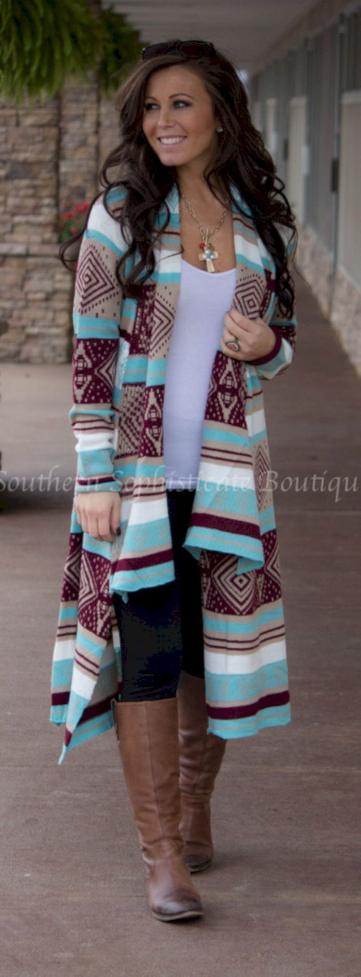 nice 34 Colorful Winter Outfit for Christmas Eve http://attirepin.com/2017/11/16/34-colorful-winter-outfit-christmas-eve/