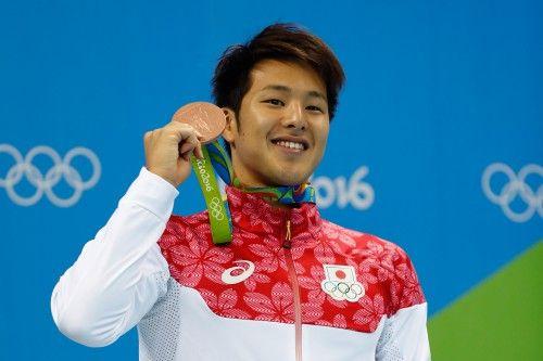 リオ五輪、水泳第1日。男子400m個人メドレーで瀬戸大也も銅メダル=ブラジル・リオデジャネイロ