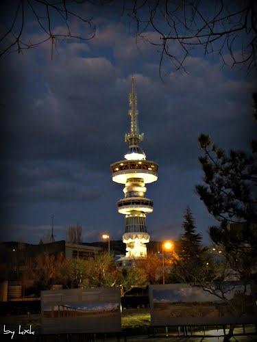 Θεσσαλονίκη: Πύργος ΟΤΕ - Thessaloniki: OTE tower.