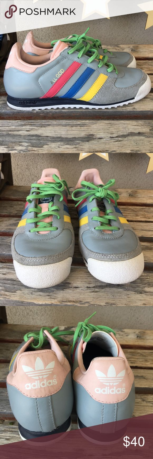 Adidas all odd rainbow sneakers size 37.5 Adidas all odd rainbow sneakers size 37.5. Loved no box adidas Shoes Sneakers