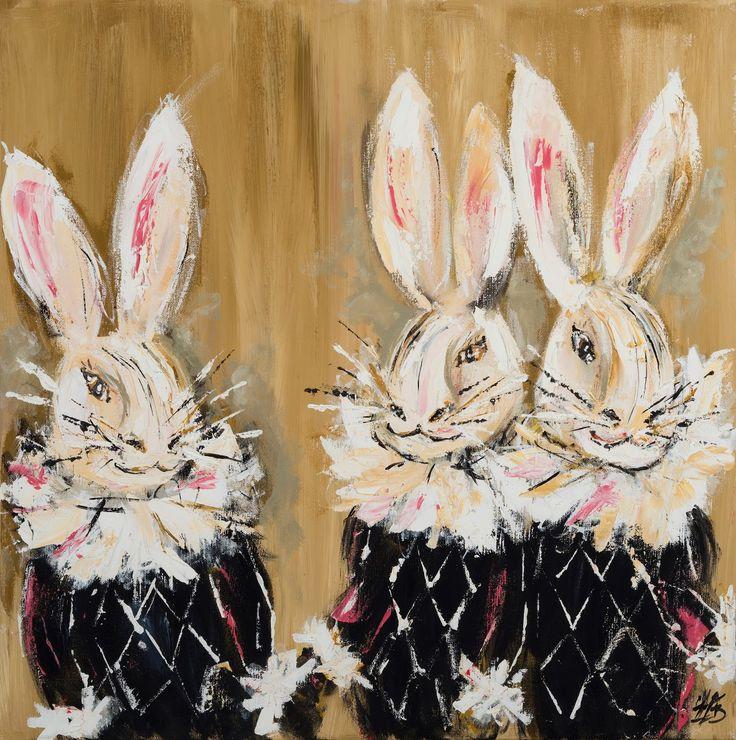 Harlequin Hares | Art. Passion. ZsaZsa Bellagio