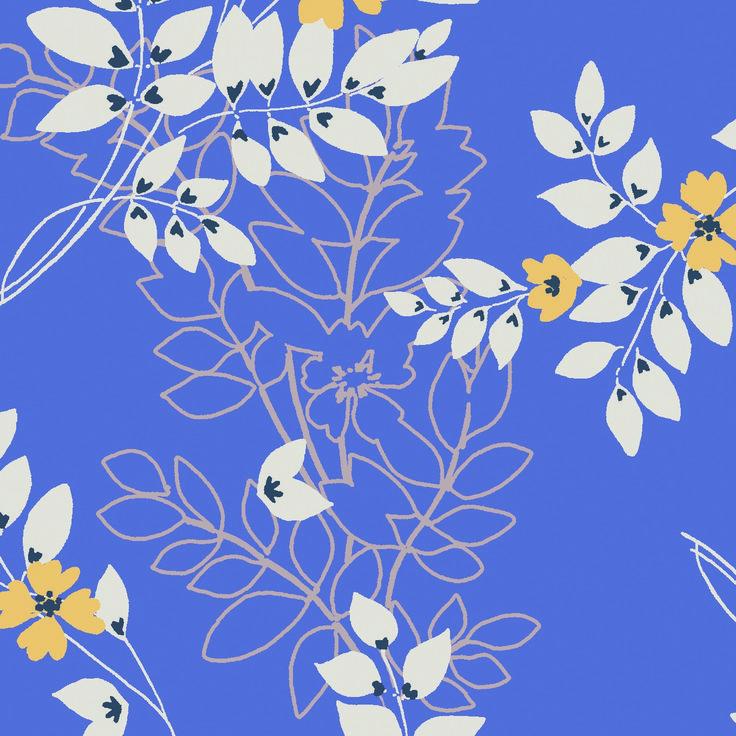 Leaf Spring – Gentle strolls in the abundant Summer fields inspired this leafy motif  www.lilyandmeclothing.com