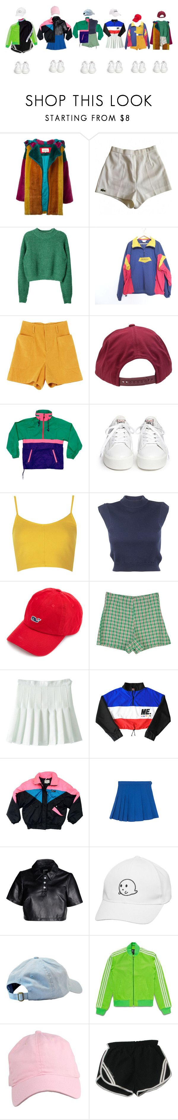 """dance girl"" by yonce4park ❤ liked on Polyvore featuring JC de Castelbajac, Lacoste, Brixton, Ash, Topshop, Carven, StyleNanda, Hood by Air, adidas Originals and Tommy Hilfiger"