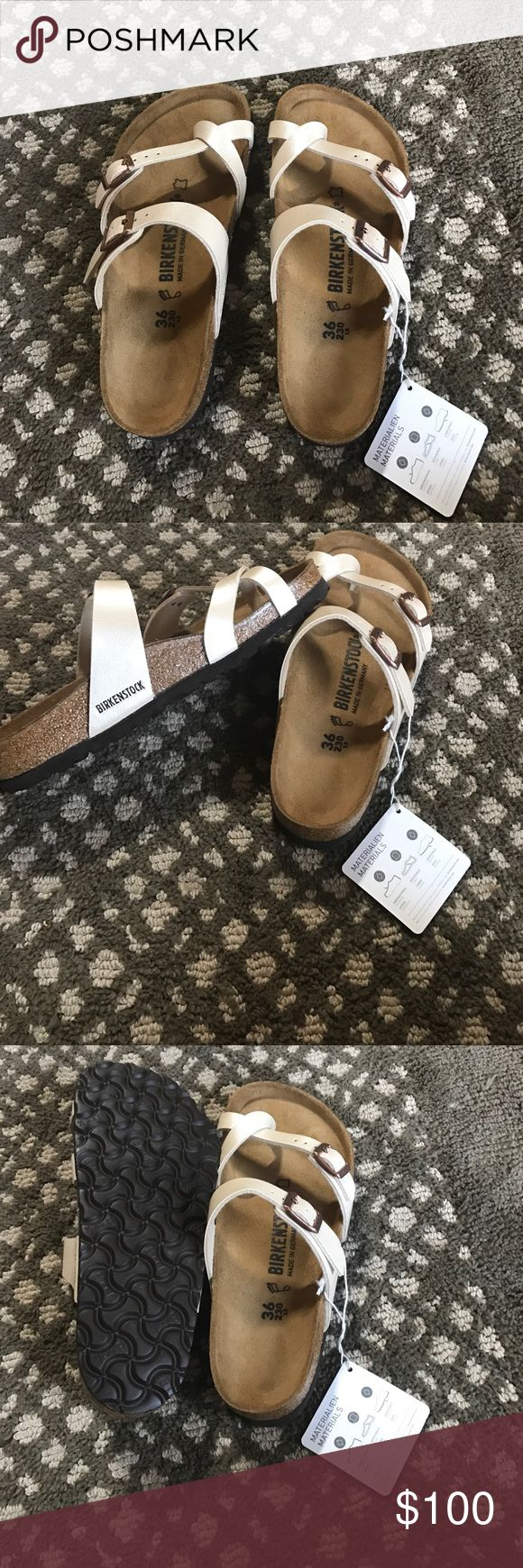 Birkenstock TRADE ONLY!!!!! BRAND NEW IN BOX!! The only reason why I am trading cause it's very hard to find a 35!!! I'm looking to trade for 35 only!! Mayari style Birkenstock Shoes Sandals
