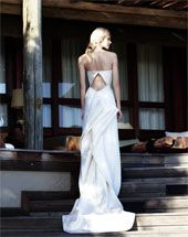 Amanda Wakeley Wedding Dresses - strapless dress with silk Mikado bodice    I'm obsessed!