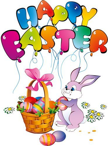 images of easter bunny png | Happy Easter Bunny Transparent Clipart