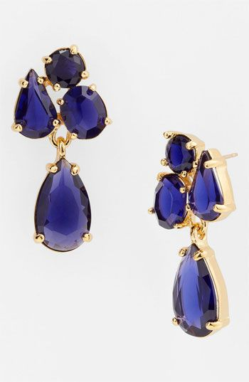 kate spade new york 'fragment' drop earrings available at #Nordstrom
