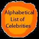Celebri-dots: Alphabetical Listing of Celebrities Authors and illustrators share their creative dots for International Dot Day.