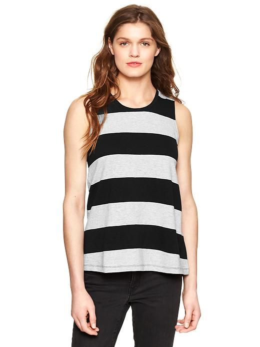 Rugby A-line muscle tank