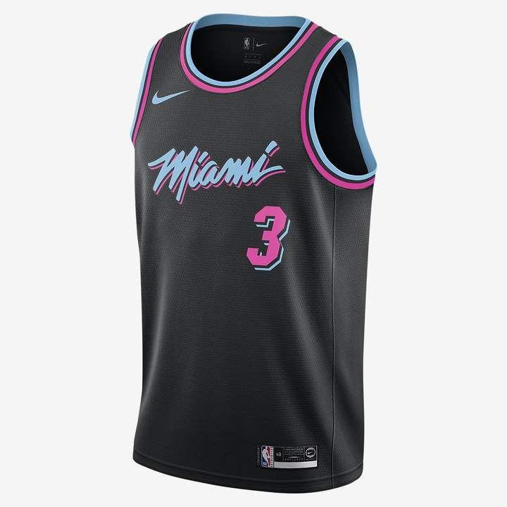 Excremento afijo Enumerar  Nike Dwyane Wade City Edition Swingman (Miami Heat) Men's NBA Connected  Jersey | Jersey outfit, Miami heat, Dwyane wade