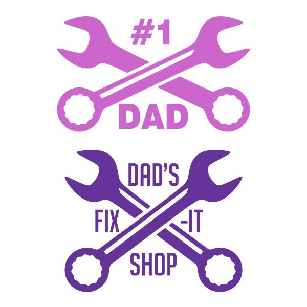 Dad Wrench Cuttable Design Cut File. Vector, Clipart, Digital Scrapbooking Download, Available in JPEG, PDF, EPS, DXF and SVG. Works with Cricut, Design Space, Sure Cuts A Lot, Make the Cut!, Inkscape, CorelDraw, Adobe Illustrator, Silhouette Cameo, Brother ScanNCut and other compatible software.