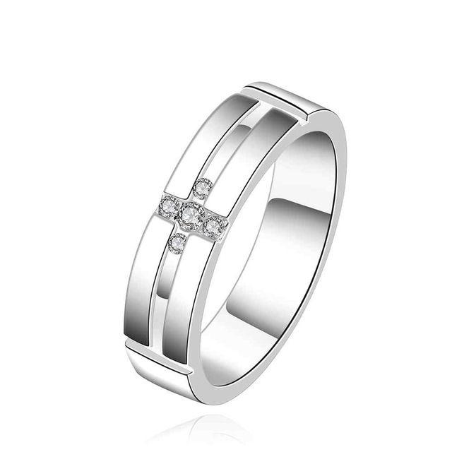 NIEUWE Arrivel 2016 VS EURO Stijl Mode verzilverd een coel mean Ring Groothandel Sieraden SMTR560