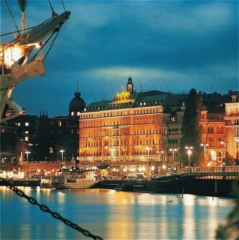 Grand Hotel in Stockholm.  #stoccolma #svezia
