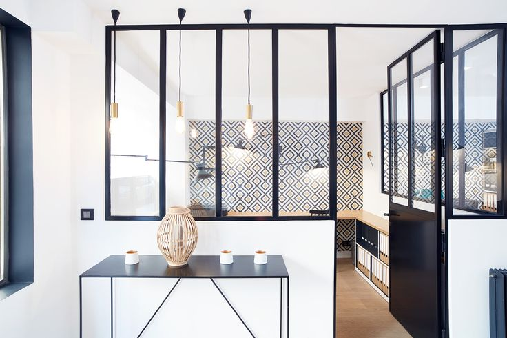 les 398 meilleures images du tableau bureaux sur pinterest am nagement int rieur espaces de. Black Bedroom Furniture Sets. Home Design Ideas