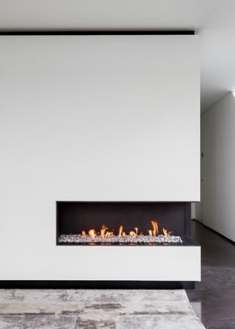 .dry wall over brick - for simple white wall