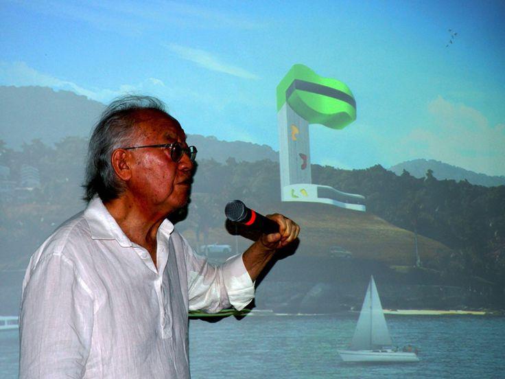 Ícone da arquitetura brasileira, Ruy Ohtake apresenta projeto de Mirante em Ilhabela