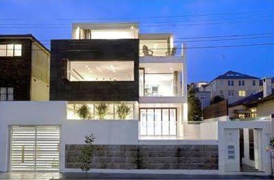 Modern Beach Garden Apartment Design Ideas