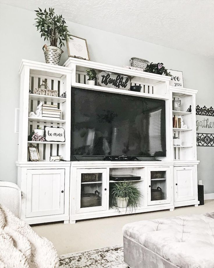 Farmhouse Entertainment Center by That's What I Want Decor ...
