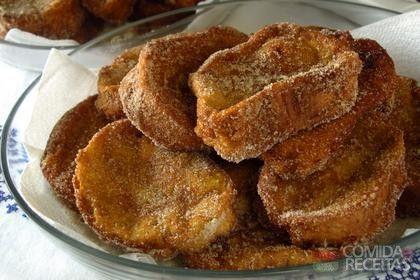 Receita de Rabanada assada em receitas de doces e sobremesas, veja essa e outras receitas aqui!