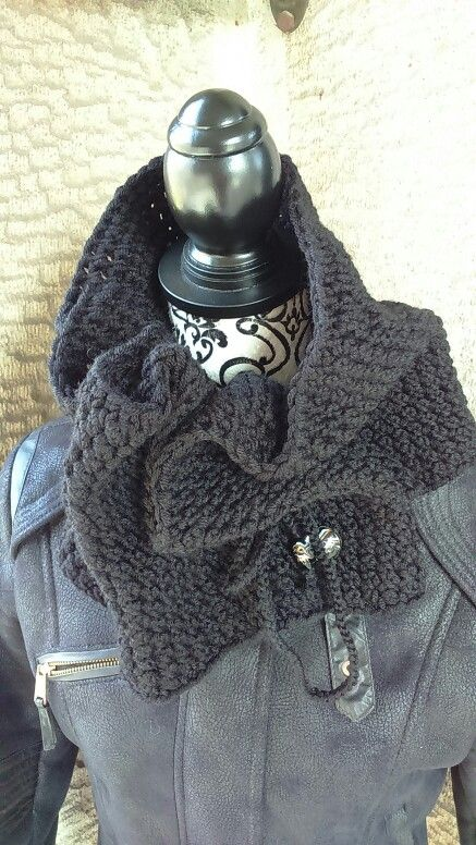 Scarf knitting j&k