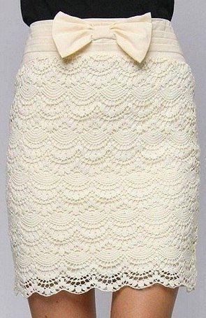 Falda con patrones