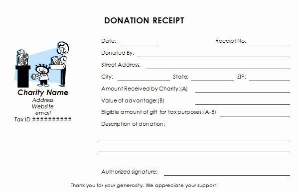 Silent Auction Receipt Template Best Of Charitable Donation Receipt Donation Receipt Templates Donation Form Receipt Template Business Letter Template
