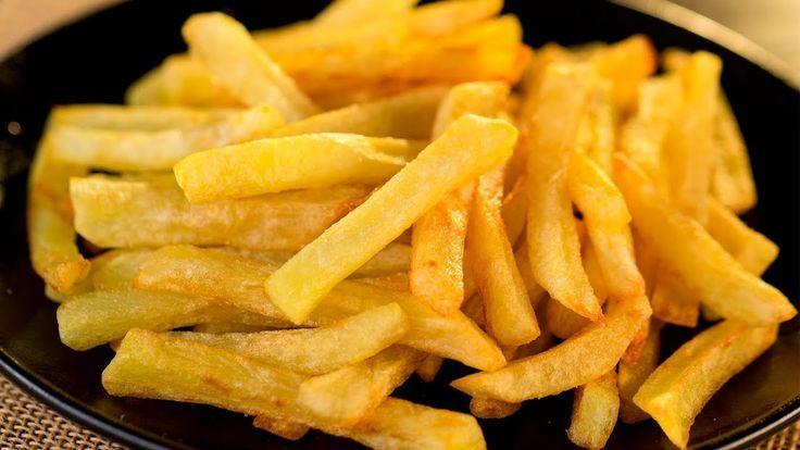 Papas fritas crujientes: receta perfecta para lugares de comida rápida …   – Patatas Ideas