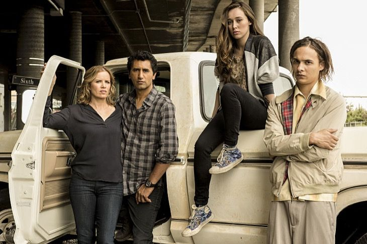 'Fear The Walking Dead' part two of Season two returns August 21, 2016 to AMC. What will happen to the individual characters? At the end of the mid-season finale, the compound operated by Celia (Marlene Forte) was burnt to the ground by Daniel (Ruben Blades). No one knows if Daniel escaped the fir