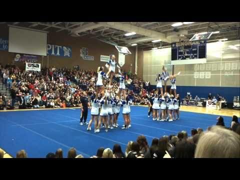 Bingham High School USA Cheer Competition Feb.4 2012