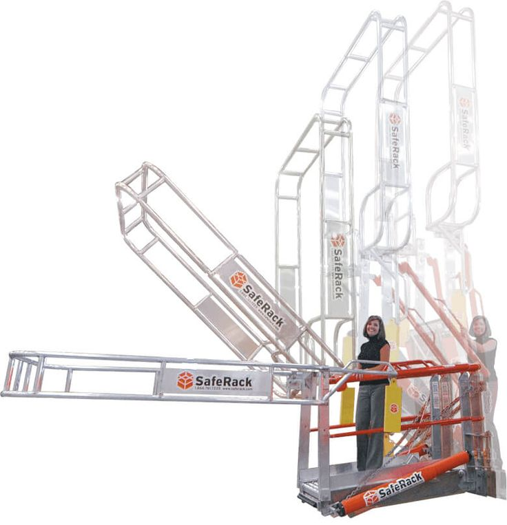 saferack offers the leading safety cage solution for railcar bulk loading our gangway cages are completely compliant to osha fall protection regulations - Saferack