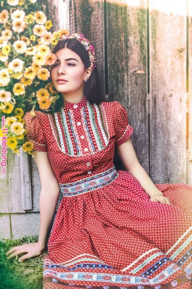 Lena Hoschek Tradition Wally Kleid Fs 2016 I Would Wear This Everyday My Style In 2019 Pinterest Dirndl Vintage Outfits Fashion Traditional Outfits