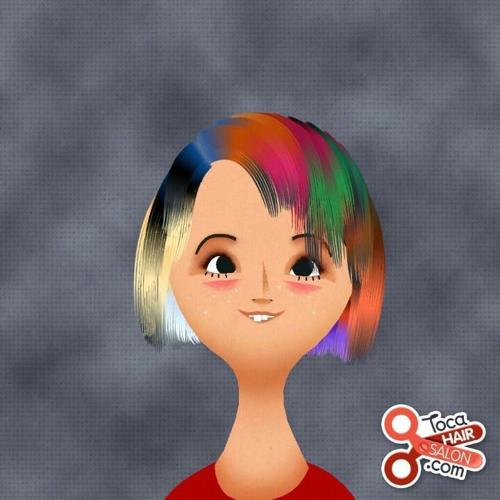 Toca Boca hair game (With images) Hair game, Makeup, Hair