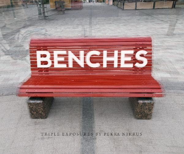 Benches. Triple exposures. Click to preview book