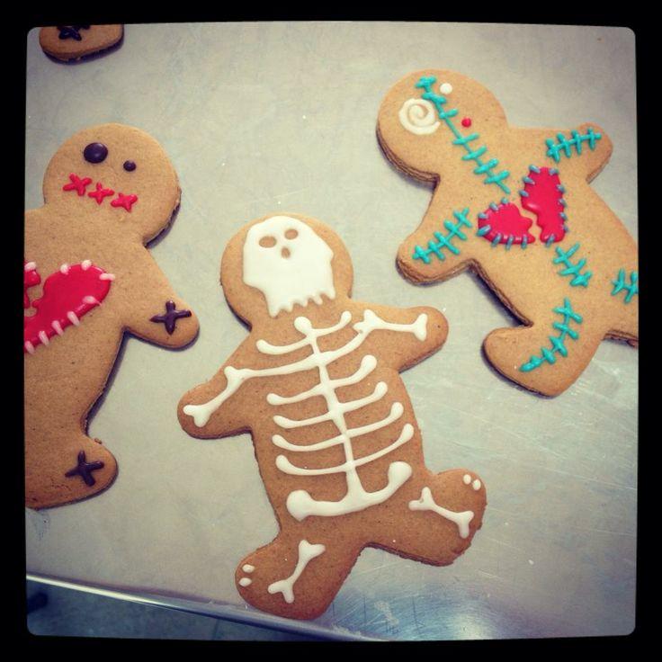 Voodoo Doll Gingerbread Men for Halloween