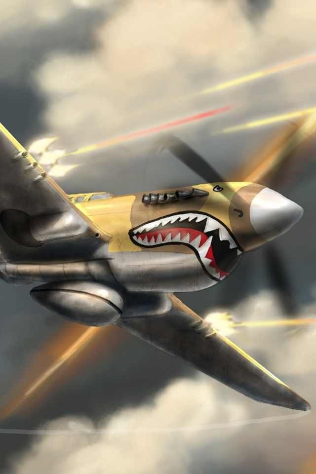 Curtis P-40 Warhawk | Flying Art | Pinterest | Jets ...