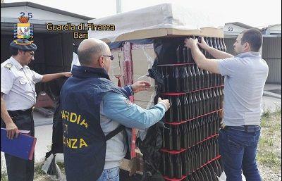 Trani contrabbando tabacchi lavorati esteri: arrestato il trasportatore