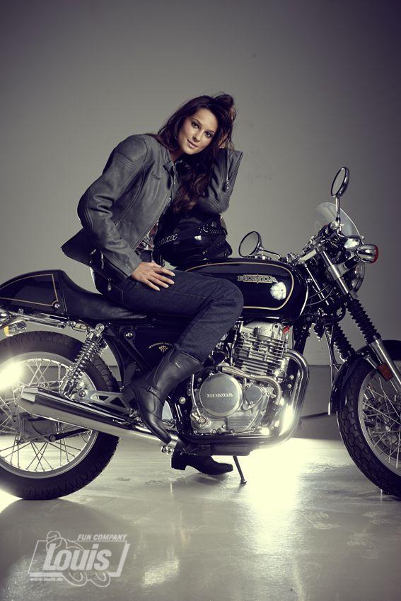 Cafe Racer CR-4 Lederjacke #Motorrad #Motorcycle #Motorbike #louis #detlevlouis #louismotorrad #detlev #louis