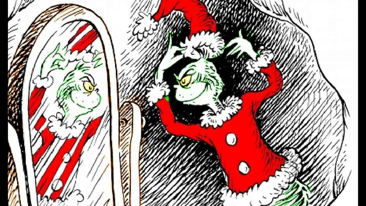 How the Grinch Stole Christmas read online - used this for a 2nd read on the Smartboard & kids answered comp questions. Really cute.