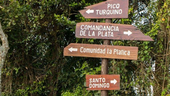 Sierra Maestra Signs