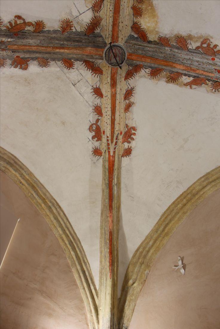 Iglesia del Salvador. Decoración de bóveda de capilla