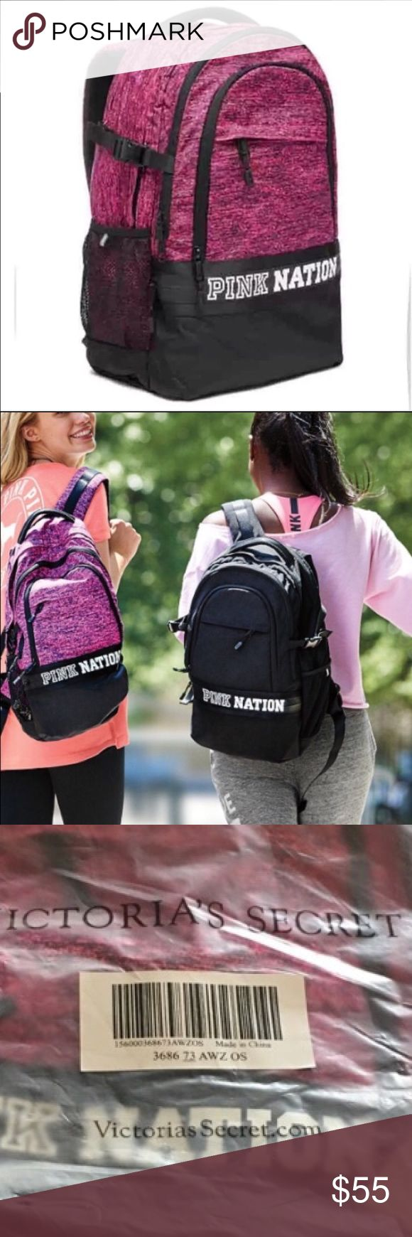🌟BRAND NEW🌟 PINK NATION COLLEGIATE BACKPACK Brand New  Authentic  No Tags Inside Online Packaging  Fees Included in price  Look at pictures please If you need additional pictures let me know 🚫NO TRADES🚫 🚫No Shipping on the Weekends🚫 Serious Buyers Only  THANK YOU PINK Victoria's Secret Bags Backpacks