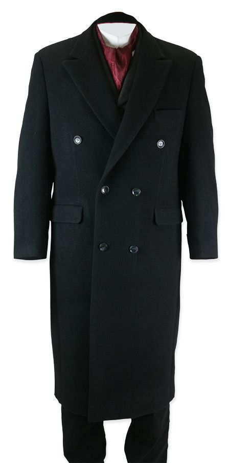 Galvin Overcoat - Black