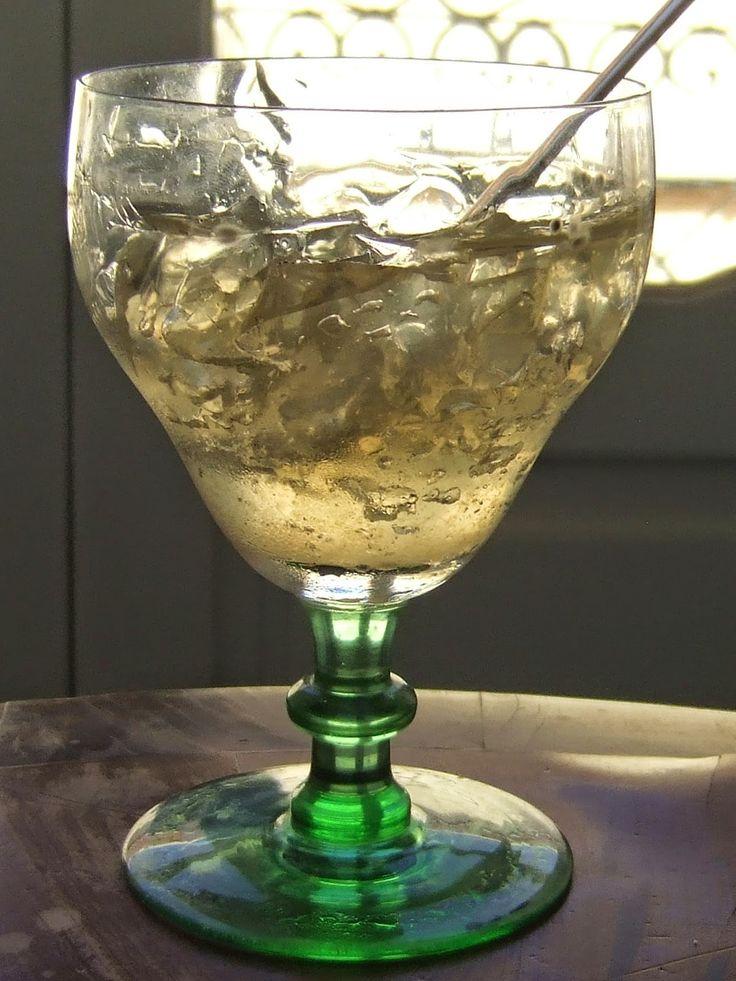 Gin and tonic jelly em copa balon o cozinheiro este algarve