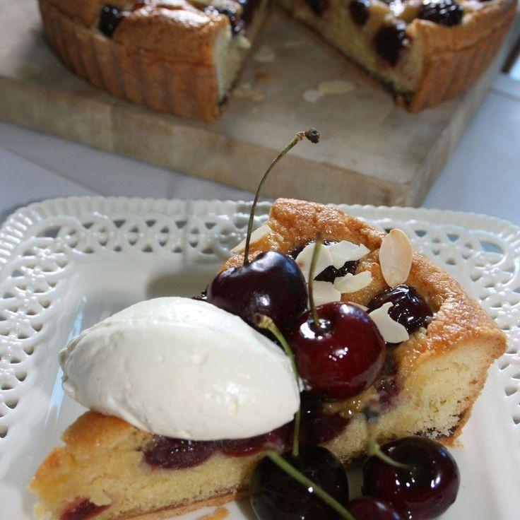 Black Cherry & Frangipane Tart Recipe on Food52 recipe on Food52