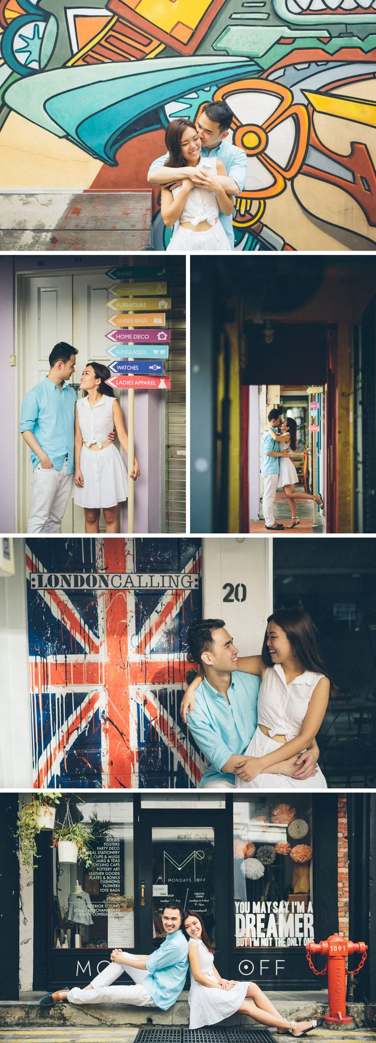 Singapore Pre-wedding Photos at Arab Street and Haji Lane