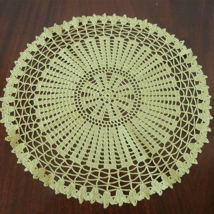 56 best crochet doilies images on Pinterest | Badezimmer zeug ...