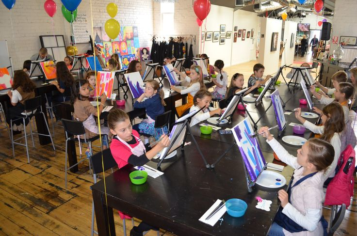 Kids and Canvas in Moonee Ponds, VIC